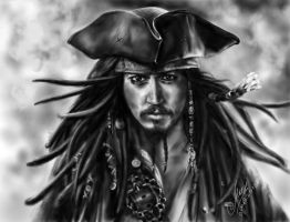 Captain Jack Sparrow by KseniaHarlequin
