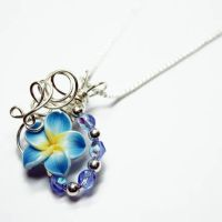 Wire Wrap Perfume Pendant 20 by Create-A-Pendant