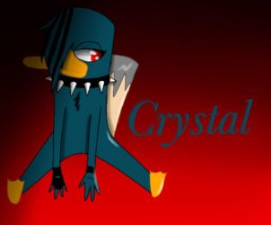 Crystal by Pinkwolfly