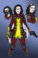Movie TV Agent Jessica Drew AKA Spider-Woman 2 by Needham-Comics