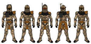 Sand Panther Troopers by PD-Black-Dragon