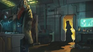 Blade Runner ~ When Rachel comes to see Deckard by indikate