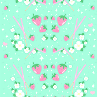 Strawberry Fields Pattern by MissJediflip