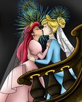 ArielxCinderella by TheMinions13