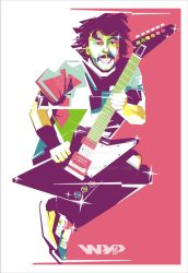 Dave Grohl in WPAP by Bagusandi