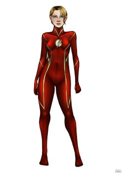 The Flash - Alt Costume 1 by ZpanSven