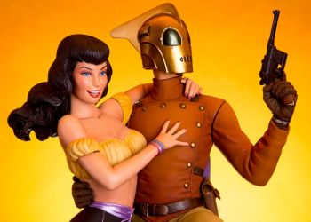 Mondo - Rocketeer and Betty by TrevorGrove