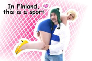 In Finland this is a sport by Minorea