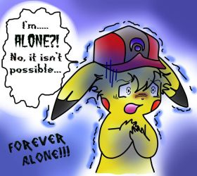 Ash forever and ever alone by CiraWasHere