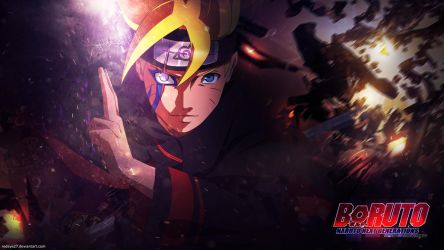 Boruto - Next generation Wallpaper by Redeye27