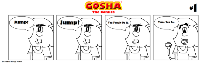 Gosha Comics (#1/8) by GoshaWorld