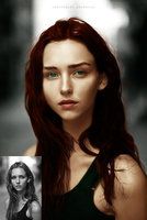 Colorization of Black and White Image by ineffablely