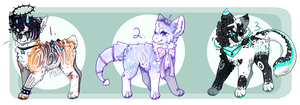 EMERGENCY adoptables auction [closed] by starrbun