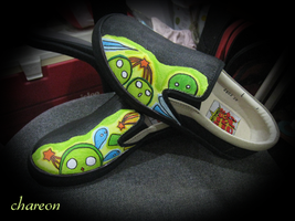 Shoe Art by Chareon