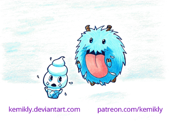 Hungry Poro by KemikLy