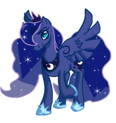 Luna 1 by SketchytheScribbler