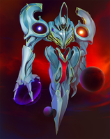 Imperial Void Knight by inzvy