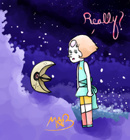 Lunatone #337 and Pearl (Has Speedpaint!) by TheDrawingMorgs