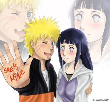 NaruHina - She's mine by Kagoya-chan