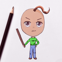 Baldi Chibi - Voice Over with Flying Pings by paulafrye