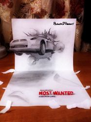 3D Need For Speed Most Wanted by BlackDHeart