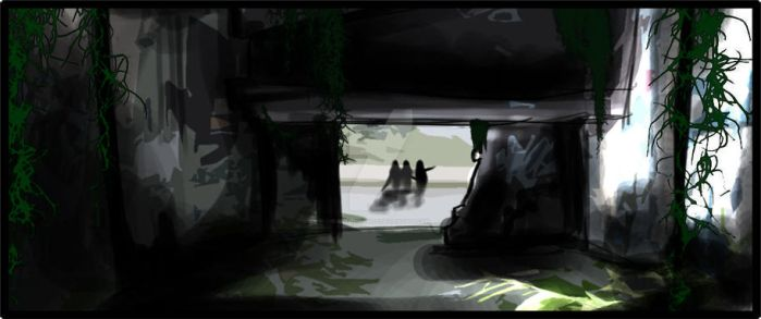 Panel: Underpass by QueenCordite