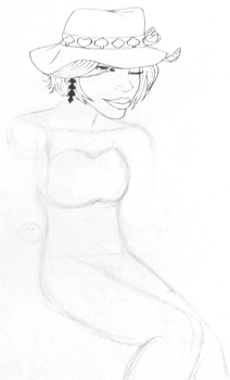 30 characters challenge : #6. (WIP) by Kitten-Draws