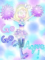 Go Go Aqours! [Love Live] by the01angel