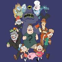 Gravity Falls T-Shirt by Sareidia