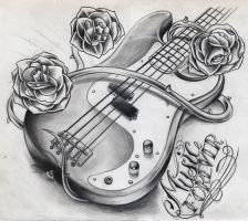 Music Forever Bass Guitar by WillemXSM