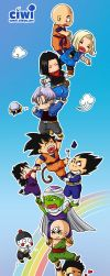dragonball characters Tower by DYKC