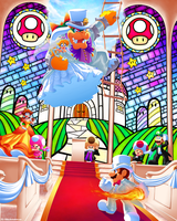 Wedding Crasher! (Mario Wedding Outfits Contest) by DJ-Mika