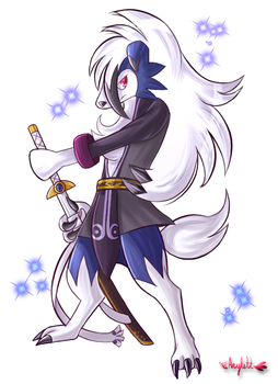 Azure Wolf by Arylett-Charnoa