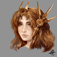 League of legends - Leona portrait by Wroppi
