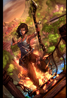 Lara Croft Reborn 02_COLOR by vest