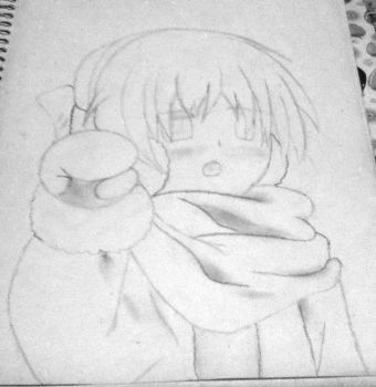 Crappy drawing of Ushio (Clannad: ~AfterStory~) #2 by Shadow3vi1