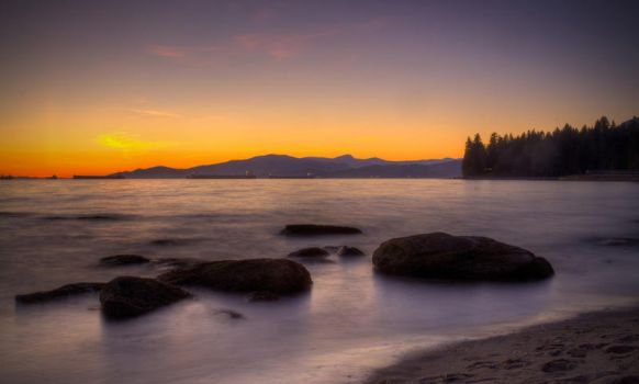 English Bay by DTherien
