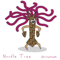 noodle tree by ynthamy