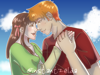 Tohru and Kyo from Fruits Basket by InstantZelda