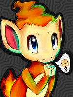 Cookie for Chimchar? by Iffy-Jiffy