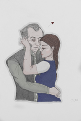 Regis and Moira (OC) by Marmottine1