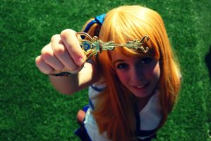 Lucy Heartfilia (Fairy Tail) cosplay by Voldiesama
