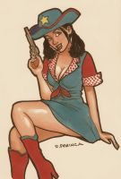 Cowgirl by siteofme