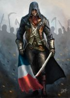 assassin's creed unity by Mr--Bobpainter
