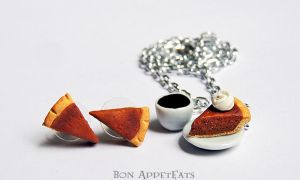 Pumpkin Pie Jewelry by Bon-AppetEats