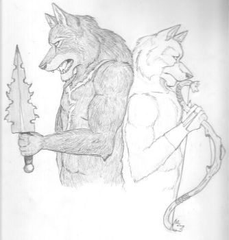 Shadow Lord, Silver Fang by IronyWolf