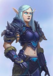 Blood Elf by lowly-owly