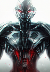 ultron by steelsuit