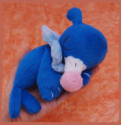 Popplio - handmade Plushie - Pattern for sale by Piquipauparro