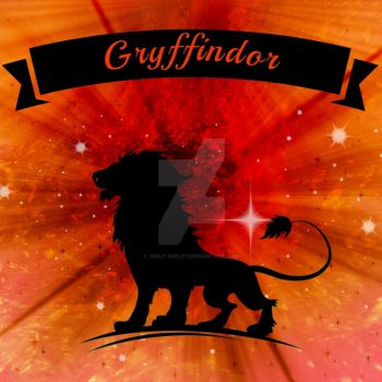 Fabric Design: Gryffindor by wolf-girl87